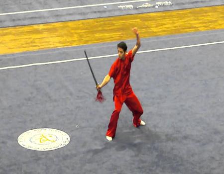 Jian شمشیر دو طرفه