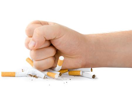 پشتکار برای ترک سیگار