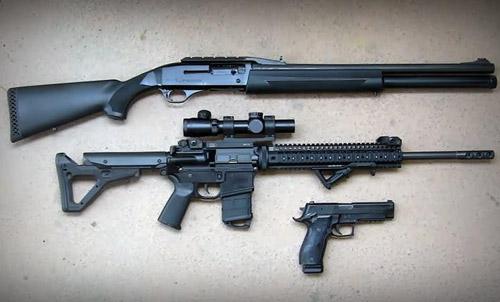 سه تفنگ