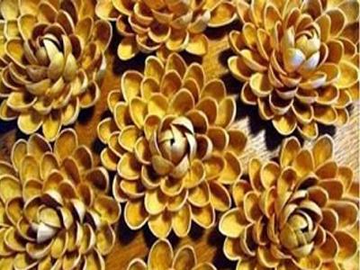 ساخت گل تزیینی