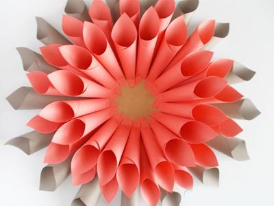 ساخت تاج گل با کاغذ