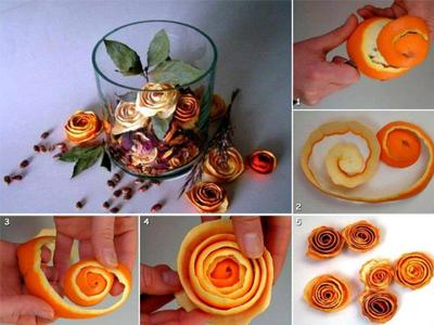 ساخت گل رز
